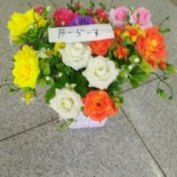 Иск цветы B-5-7