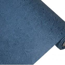 Фетр с тиснением Розы цветочные 50см x 5м серый