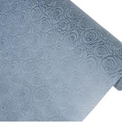 Фетр с тиснением Эдем-Розы 50см x 5м серый