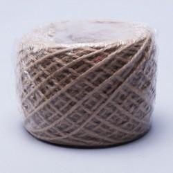 Шпагат натуральный джутовый 1120 текс 2-х ниточн. 1.2мм х 100м