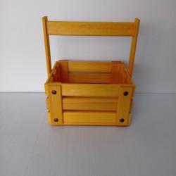 Ящик желтый 19*14*10