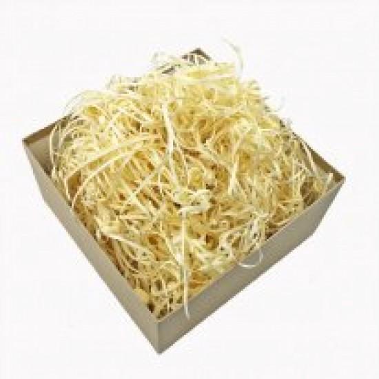 Бумажный наполнитель для подарочных коробок 3,8мм, 50 гр; цвет: натуральный