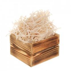Бумажный наполнитель для подарочных коробок 3,8мм, 50 гр; цвет: кремовый