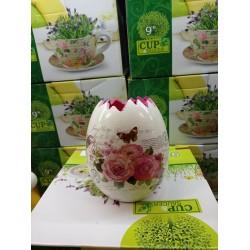Кашпо для цветов керамич.B-70-11