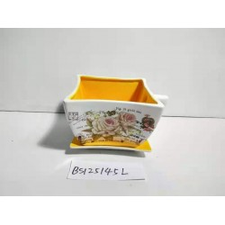 Кашпо для цветов керамич.B-70-22