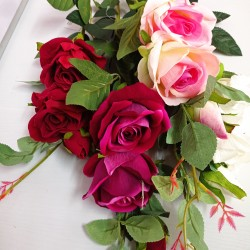 Искусств.цветок Роза,80смB-65-7